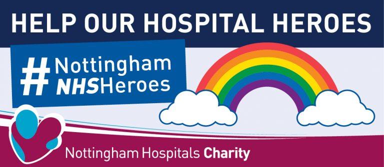 Nottingham #NHSHeroes appeal raises £20,000 in ten days
