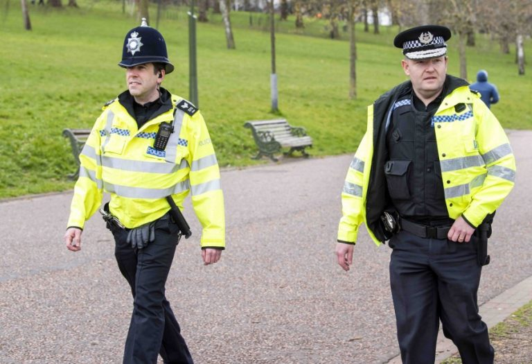 Nottinghamshire's Chief Constable joins officers on the front line on patrol