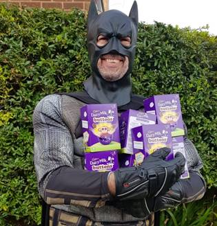 Batman To Deliver Easter Eggs In Gotham West Bridgford Wire