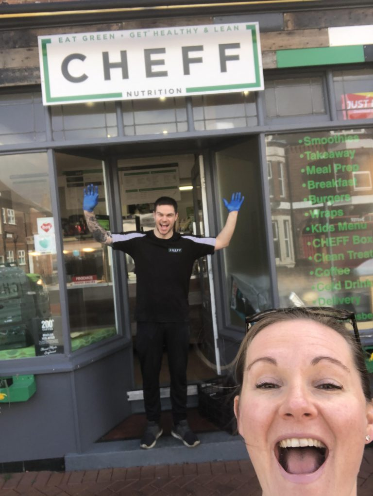 West Bridgford's CHEFF teams up with Lady Bay local to deliver meals to NHS frontline