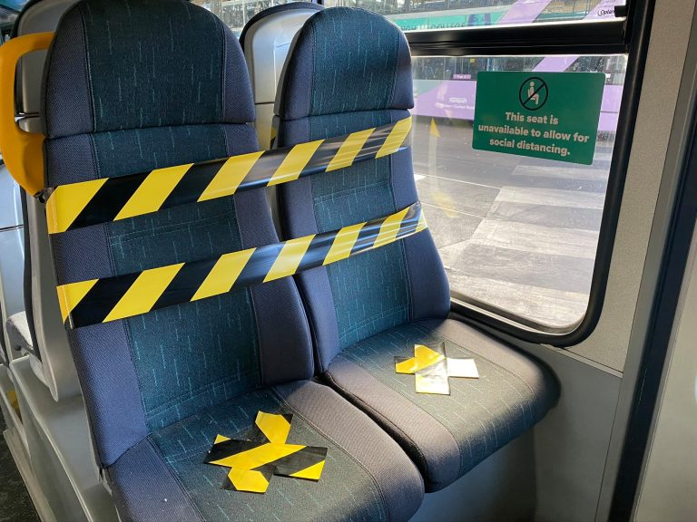 Nottingham buses reinforce guidance for 'social distancing' on public transport