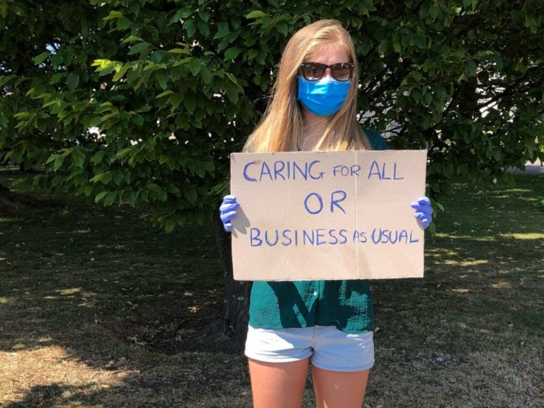 Pictures: Extinction Rebellion action at County Hall calls for Citizens' Assemblies