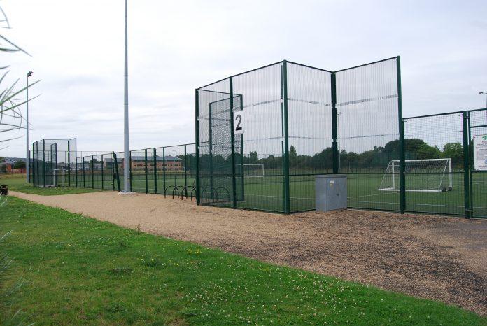 Gresham 3G sports pitch