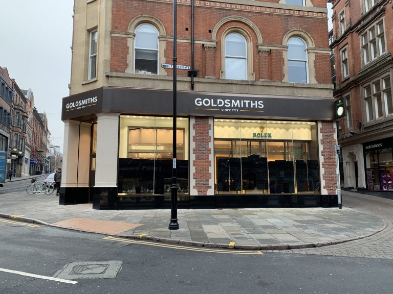 Man arrested in connection with Goldsmiths Nottingham burglary