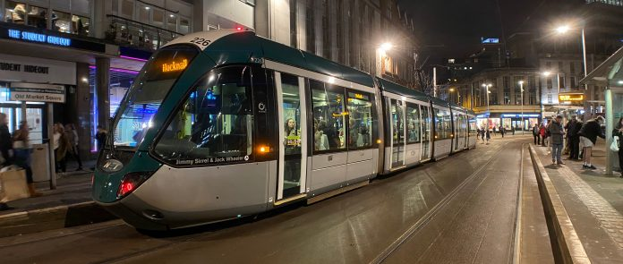 Nottingham transport plan