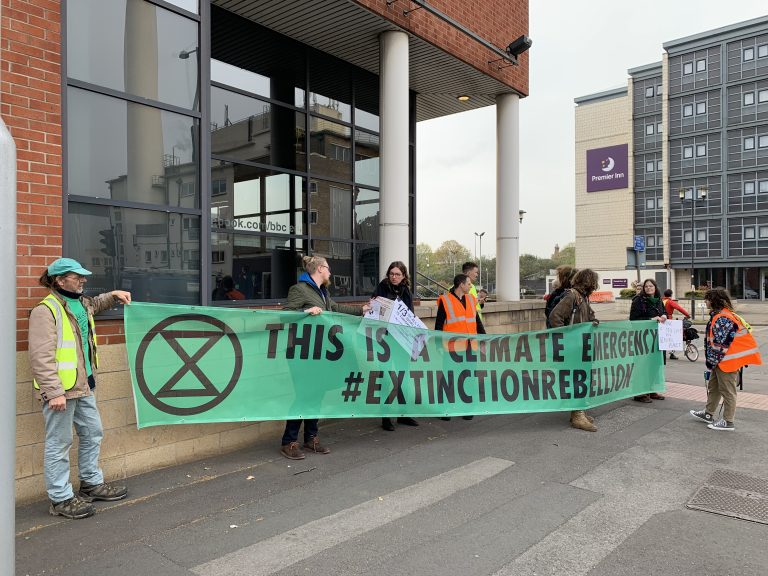 Extinction Rebellion Nottingham announce protest this weekend