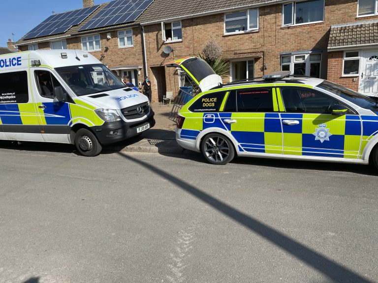 Operation Alaska: Out on a drugs warrant in Cotgrave with Nottinghamshire Police neighbourhood teams