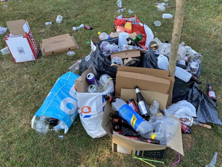 Bridgford Park littering: Police and Environmental Health to spot-check licensed premises in West Bridgford
