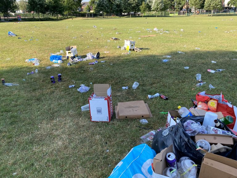 Video: West Bridgford residents' outrage at 'huge gatherings' and litter in Bridgford Park