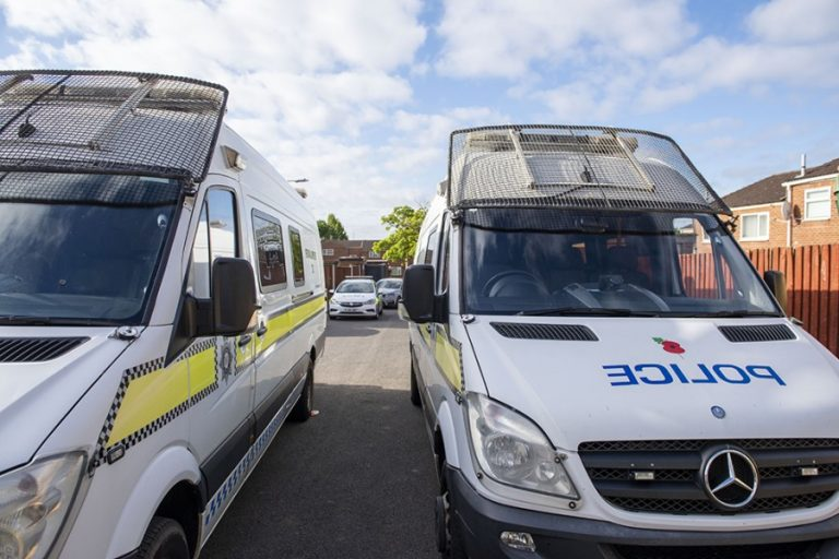 Police raid in Nottingham results in four arrests and recovery of  firearms and ammunition