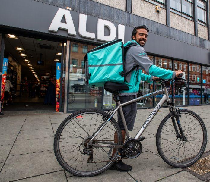 Aldi Deliveroo Trial