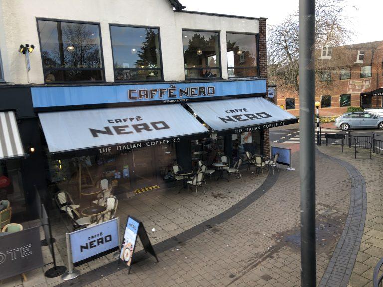 Caffe Nero West Bridgford now open for takeaway