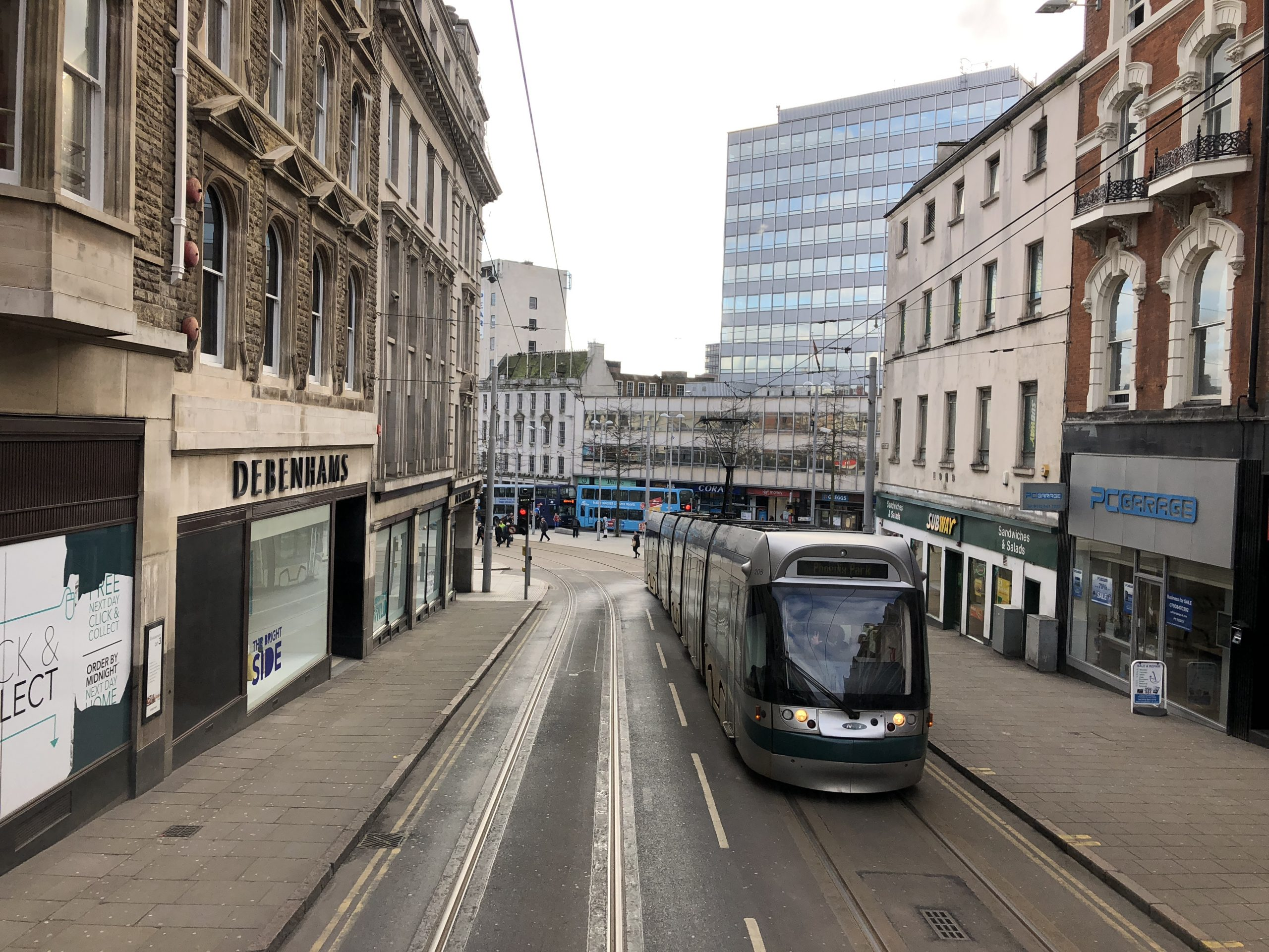 Nottingham tram Nottingham tram service