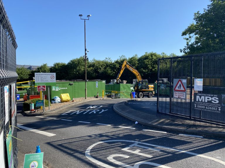 All recycling centres across Nottinghamshire now open