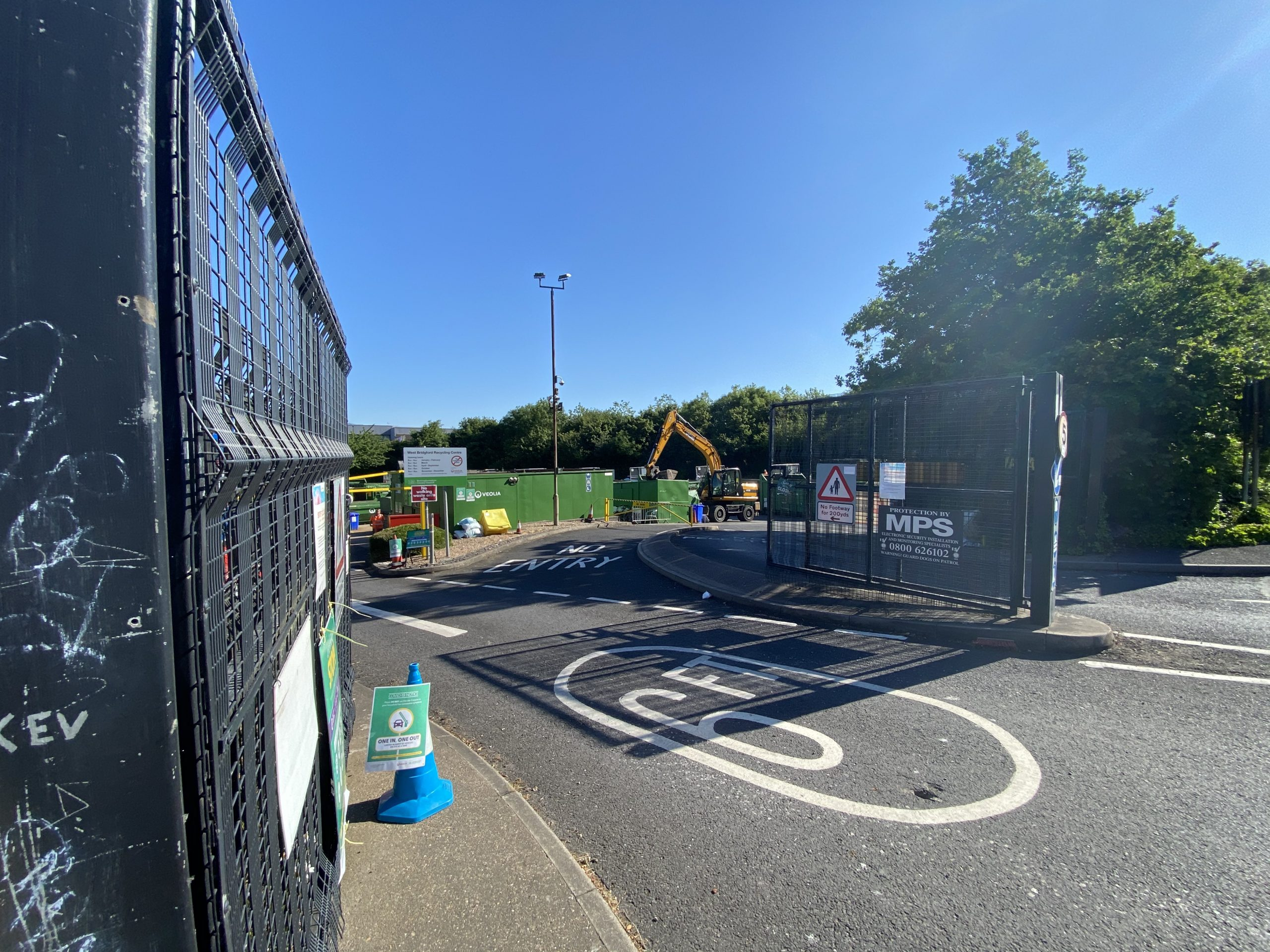 west bridgford recycling centre