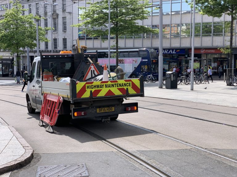 Nottingham trams: Old Market Square and Lace Market stops to close for track works
