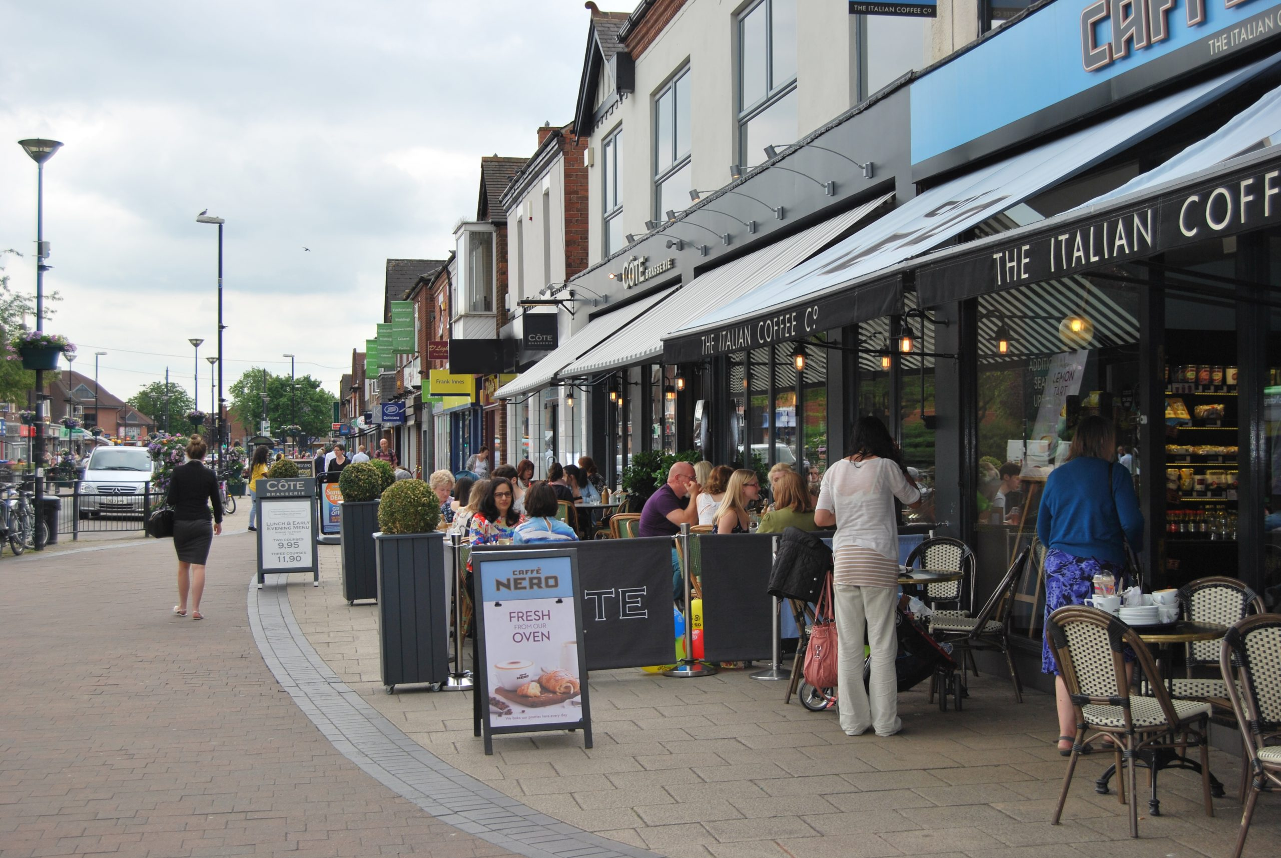 Rushcliffe Borough Councils Cabinet is disappointed at the lack of support for Central Avenue businesses in West Bridgford scaled