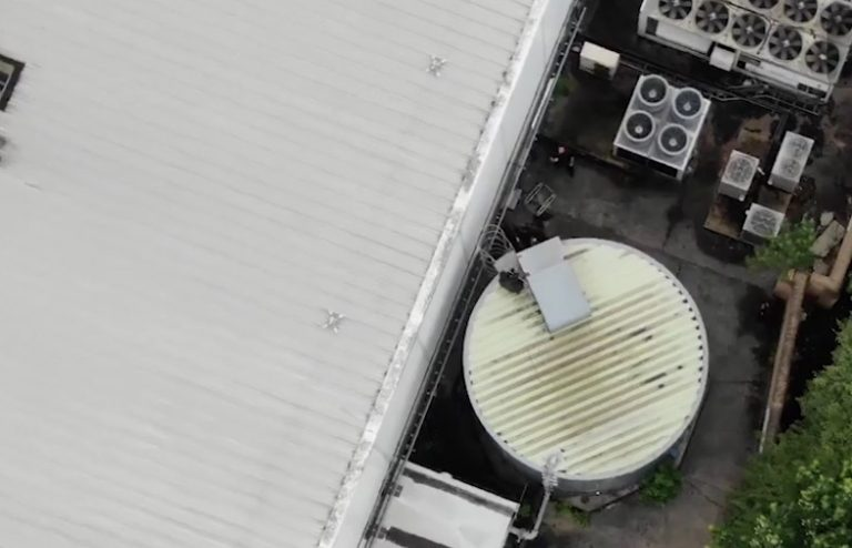 Video: Police dogs and drones locate suspected drug-driver at ASDA West Bridgford