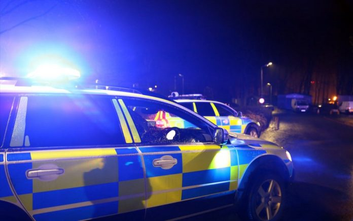 police car night 2