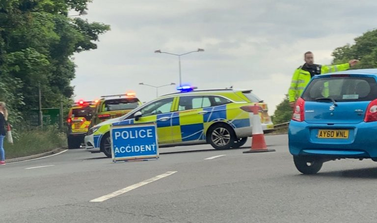 Live updates – Road closed: The A52 in West Bridgford is currently closed following a collision