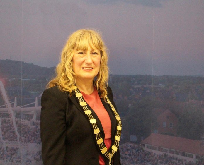 Cllr Sue Mallender has been elected as Mayor of Rushcliffe