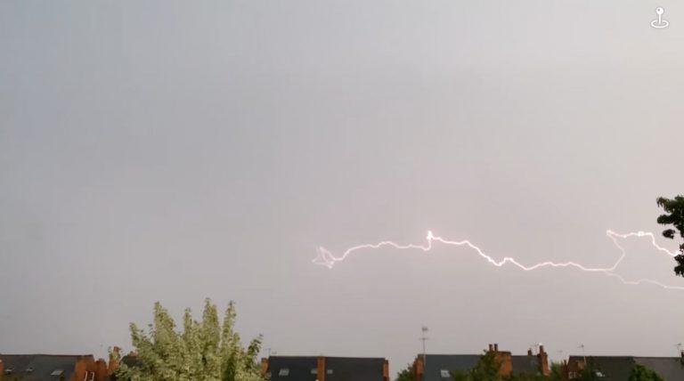 Video: Incredible footage of West Bridgford thunderstorm