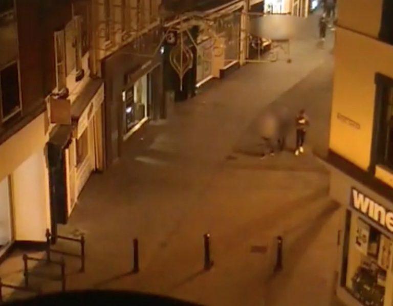 CCTV shows Jordan Sinnott's final moments as two men convicted of his murder