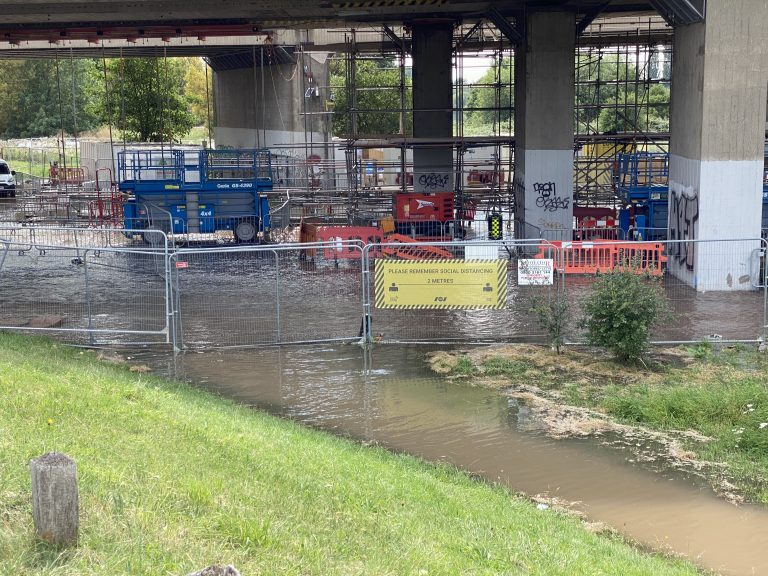 Update Burst Water Main: Severn Trent diverting water around network to restore supplies as soon as possible