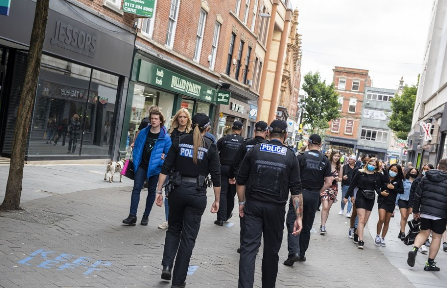 Pictures: Police arrest one and seize drugs in Nottingham city operation