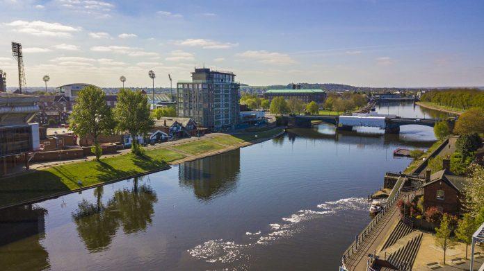 Elevate view from Trent Bridge Quays