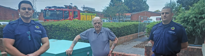 Notts firefighters save 80-year-old who collapsed during Safe & Well Visit