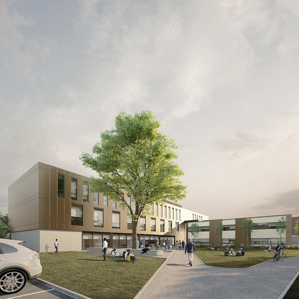 NTU healthcare building Clifton exterior 2