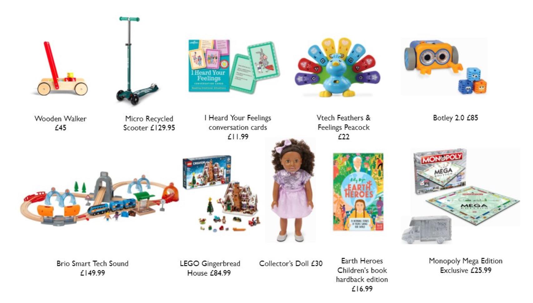 Top Ten Christmas toys