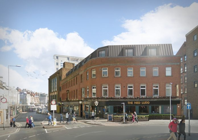 CPMG Architects Friar Lane apartments Nottingham City Centre
