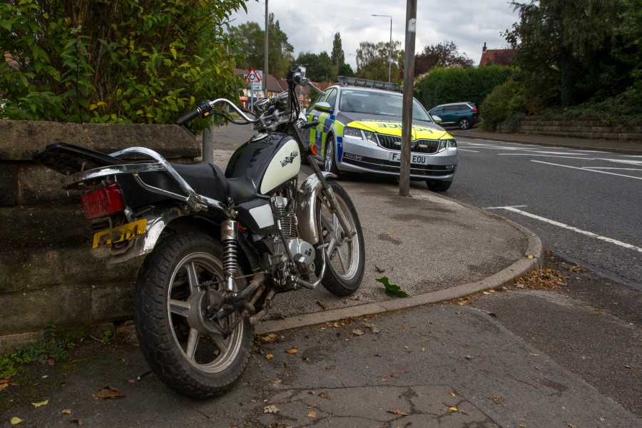 Reacher stolen bike recovered