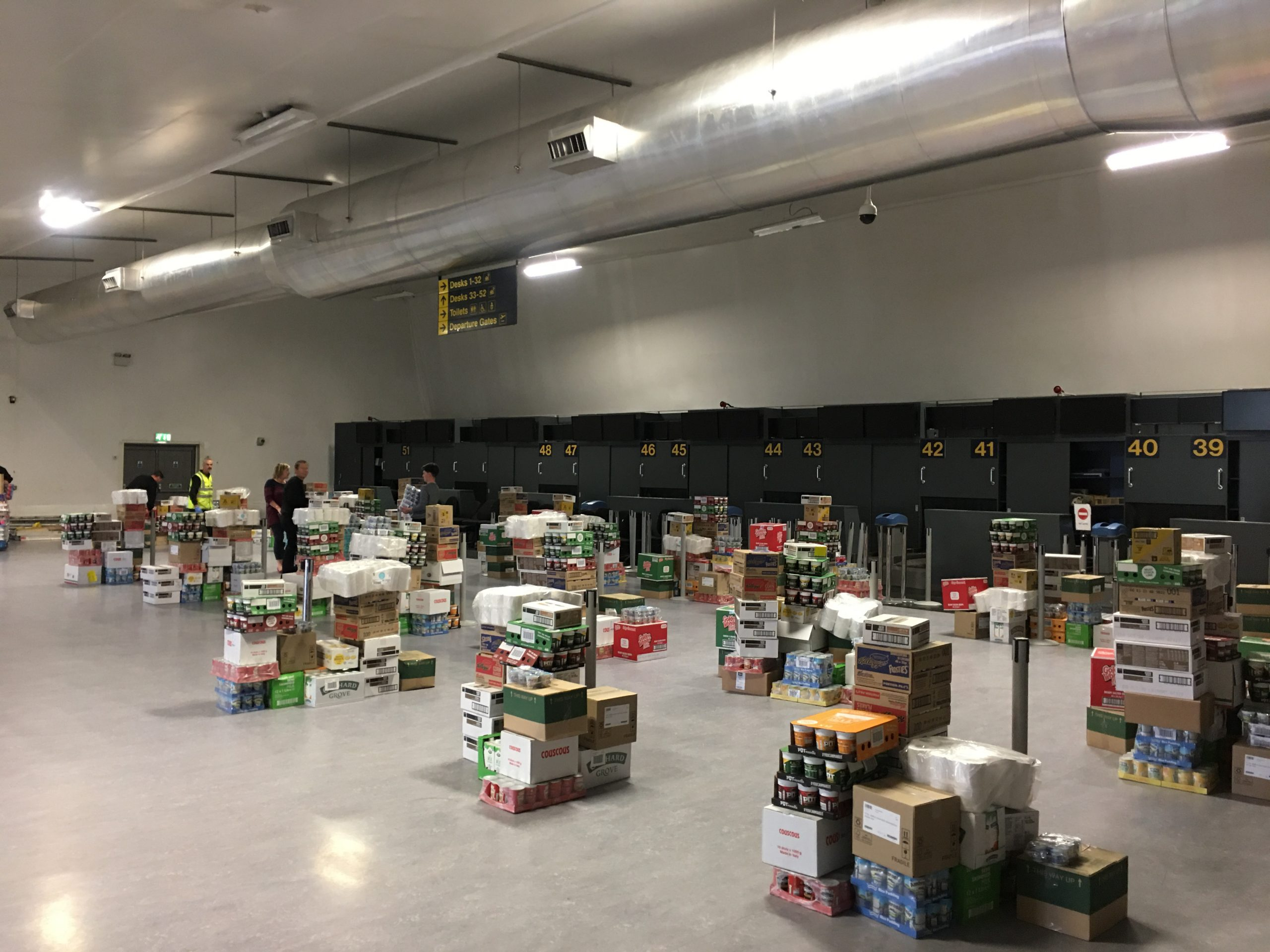 EMA foodbank donations scaled