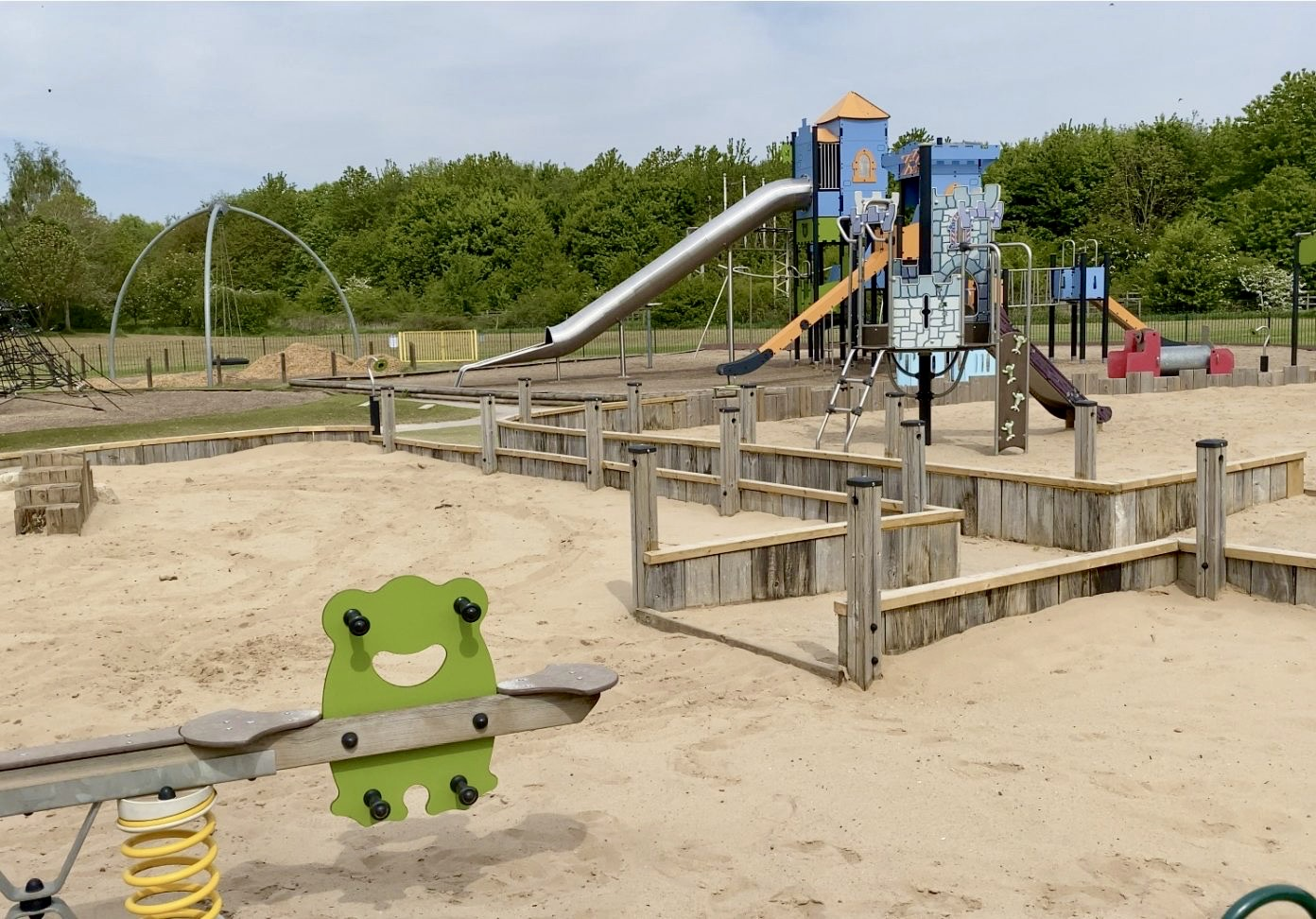Play park at Rushcliffe Country Park