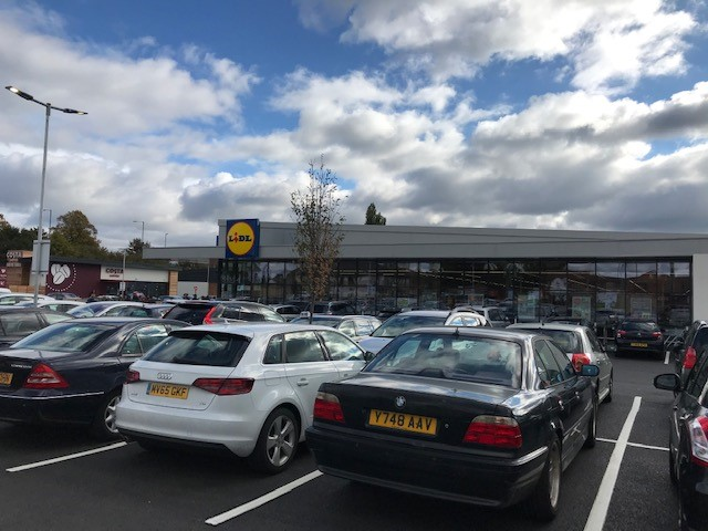 LIDL at Beechdale Baths Site