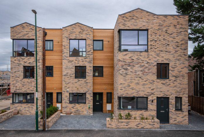 Pelham Homes Pelham Waterside housing development exterior