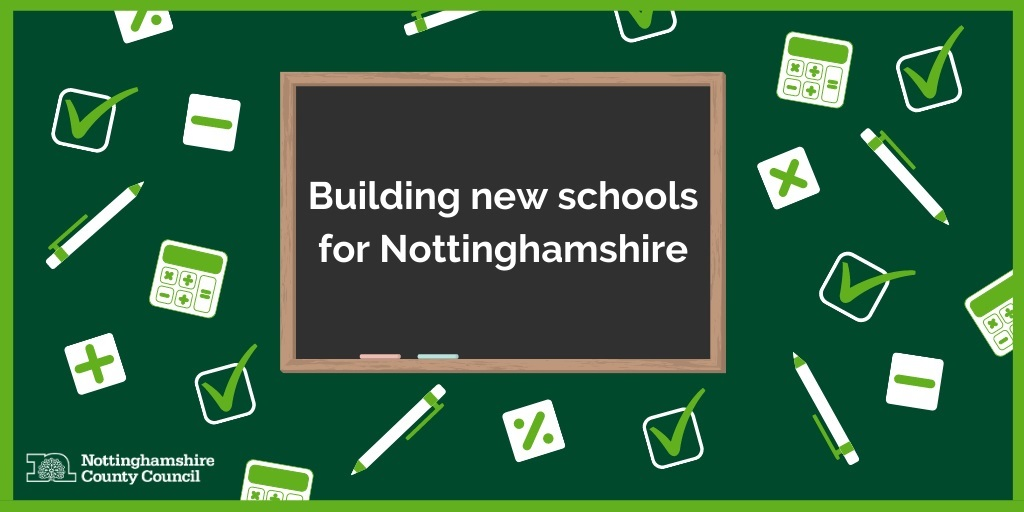 Building new schools for Nottinghamshire