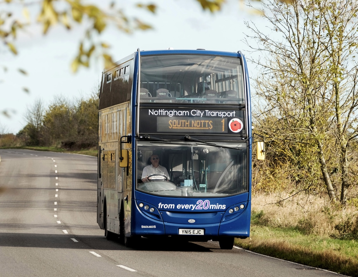 Nottingham Bank Holiday bus services and travel centre hours