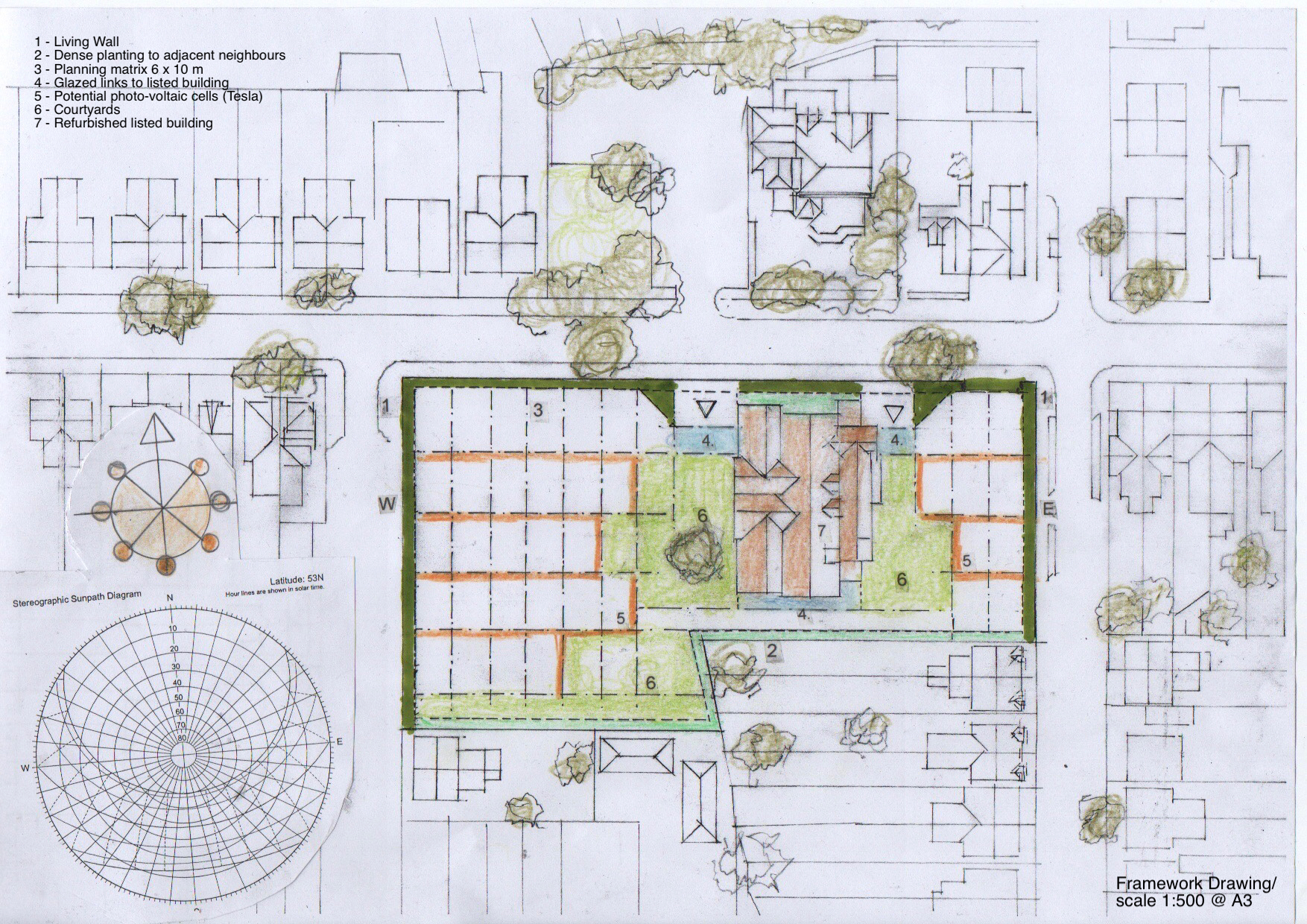 Alan Wrights Lady Bay School concept drawing 2