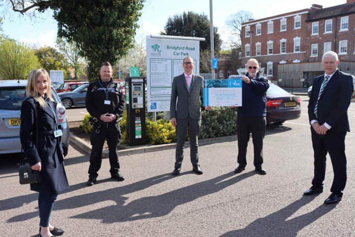 Car parks across Ruschcliffe have now earned the presitgious Park Mark award