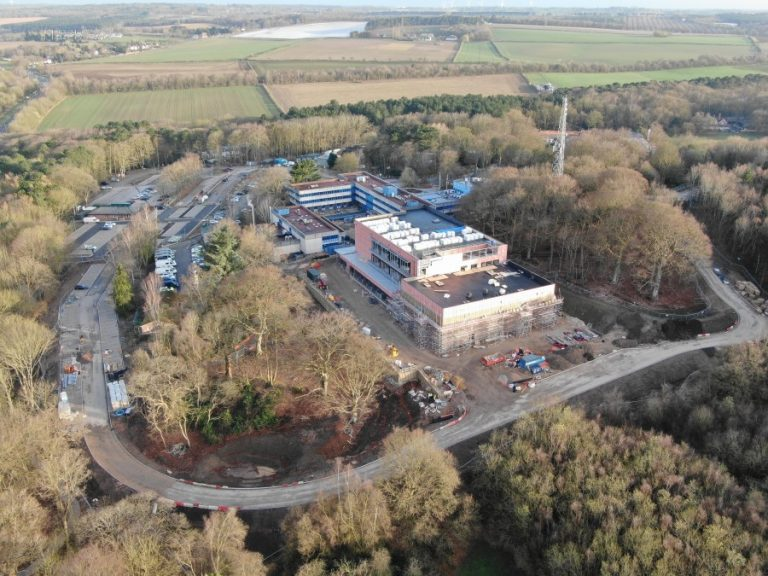 Video: Drone footage shows Nottingham's new joint Fire and Police HQ progress
