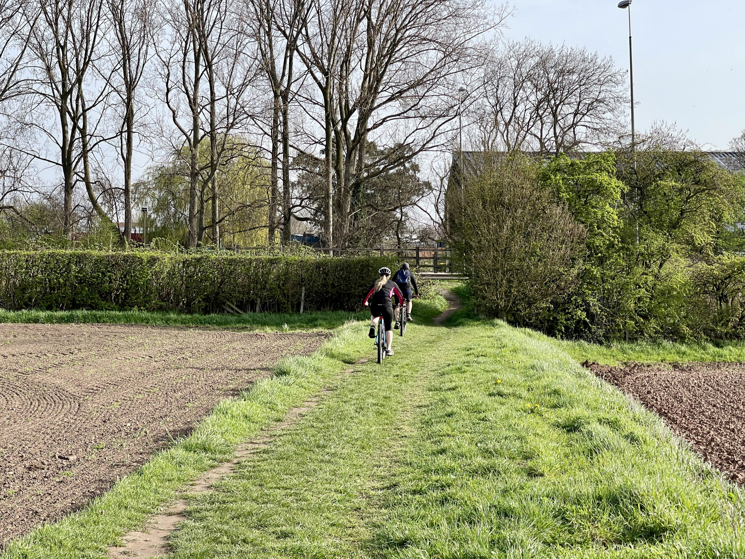 Fields on the south side of the A52 enjoyed by walkers and cyclists © westbridgfordwire.com
