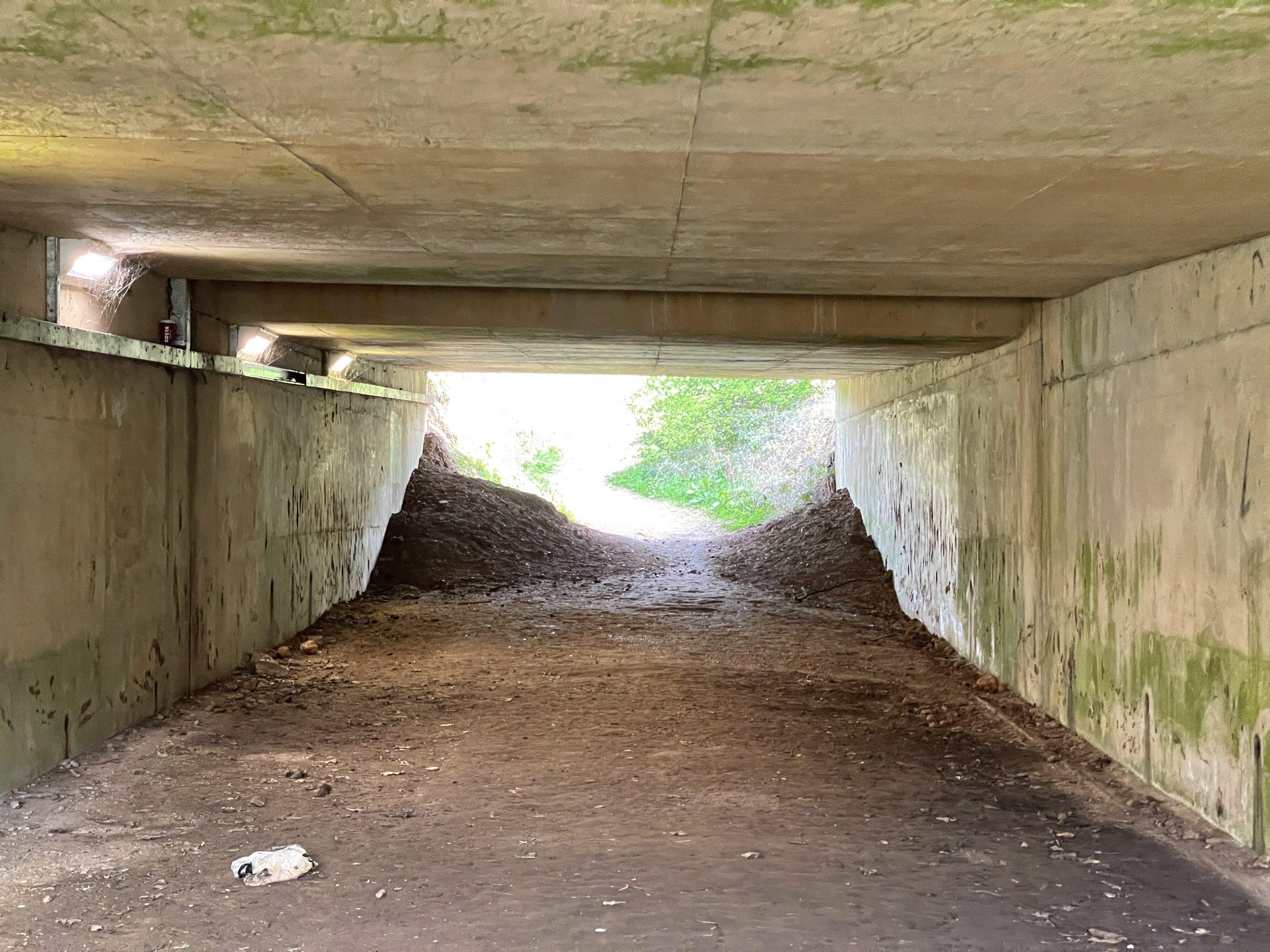 Underpass underneath the A52 ©westbridgfordwire.com