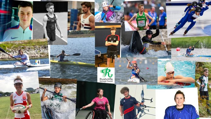 Rushcliffe Borough Council has awarded 19 local athletes with grant funding