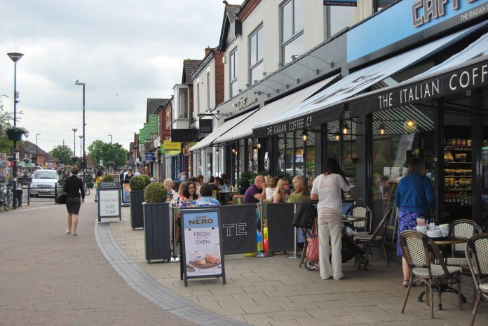 Rushcliffe Borough Council is encouraging hospitality businesses to apply for outdoor pavement licences for April 12