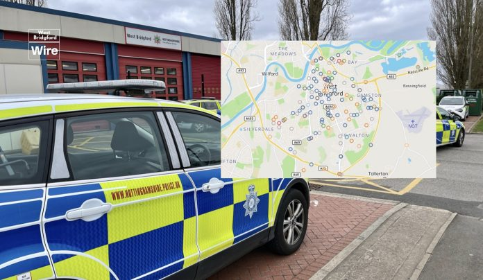 West Bridgford crime