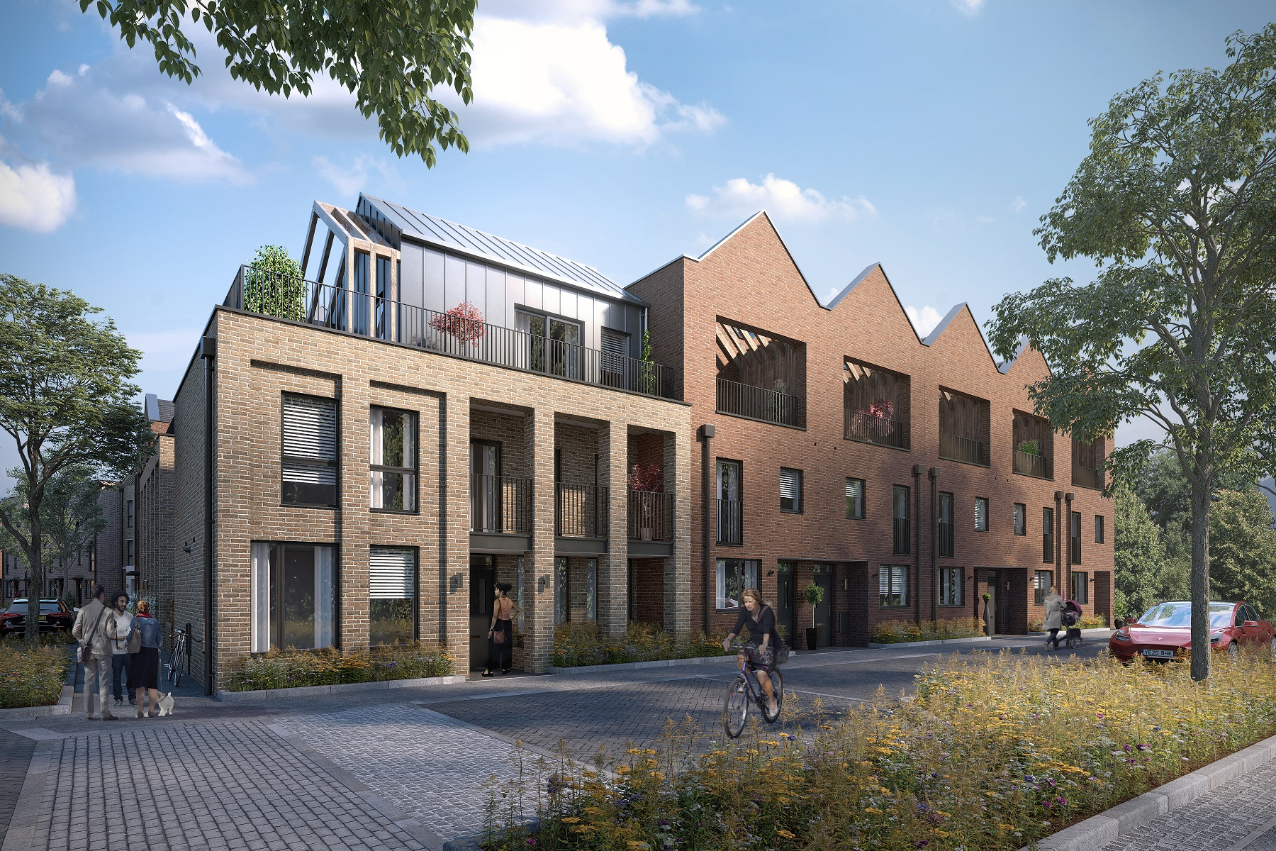 Townhouse style living at Trent Basin